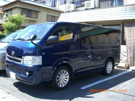 Toyota Hiace 2007 2007 Toyota Hiace Pictures Cargurus