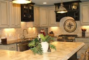 Kitchen Colors With Cream Cabinets by Kitchen Calming Cream Kitchen Cabinets With Strong Beige