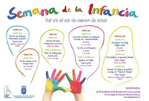 semana de la infancia en abierto el plazo de inscripciones para las actividades de