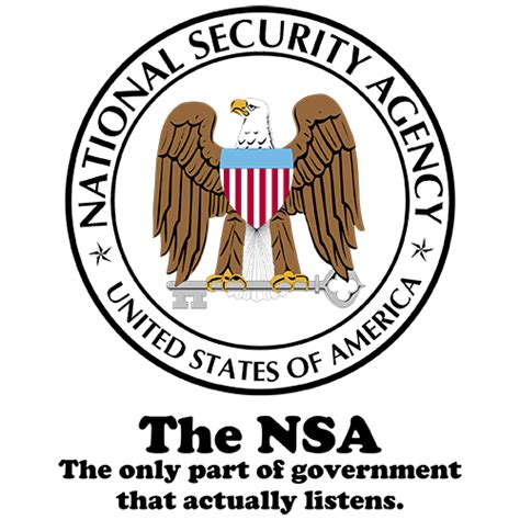 T Shirt Listening The the nsa the government is listening shirt