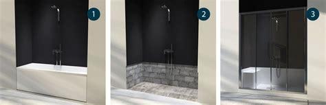 da vasca a doccia docce per anziani e disabili sostituzione vasca in doccia