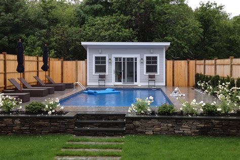 pool house design small swimming pool design for your lovely house homesfeed