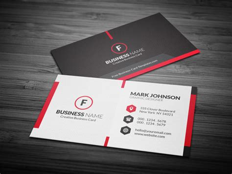 Free Business Card Template Free Printable Templates 10 Free Psd Vector Ai Eps Format Download Free Premium Templates