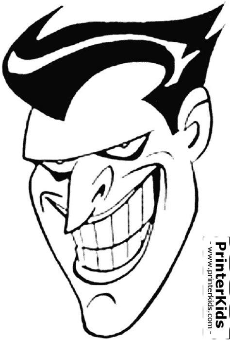 joker mask coloring pages batman face coloring pages getcoloringpages com