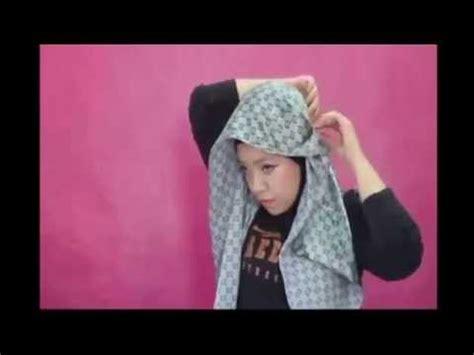 tutorial berhijab ala hana tajima cara pakai jilbab tutorial hijab pashmina satin ala hana