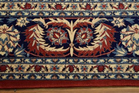 Low Priced Area Rugs Knotted Isfahan 8 X 10 Area Rug High End