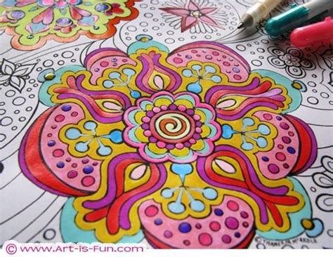 psychedelia and other colours books free abstract coloring page to print detailed