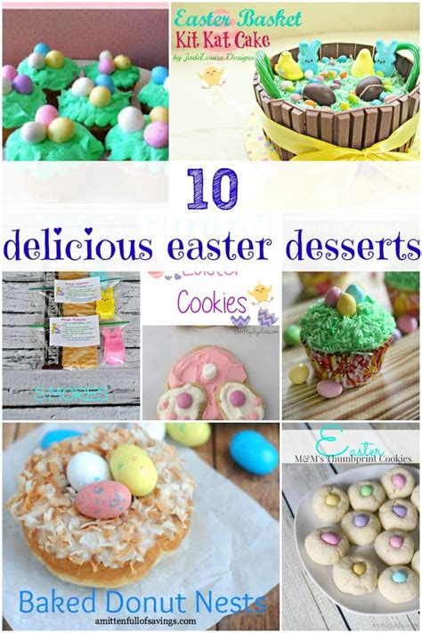 delicious easter recipes delicious easter dessert recipes