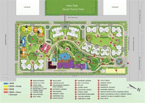 layout master plan hero homes mohali master plan layout