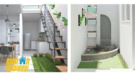 denah rumah minimalis taman