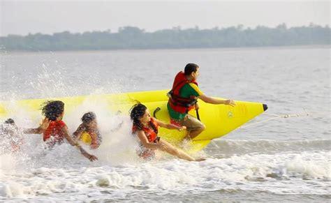 banana boat ride kenya banana boat ride on mandwa beach near mumbai thrillophilia