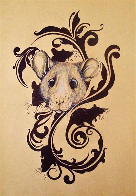 rat tattoo designs 25 best ideas about rat on mouse