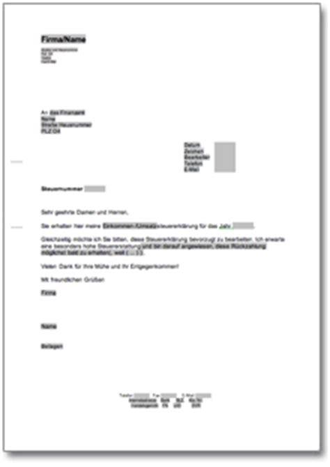 Musterbrief Widerspruch Unfallversicherung Bitte Um Bevorzugte Bearbeitung Beim Finanzamt De Musterbrief