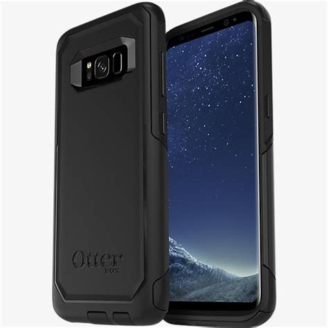 Otterbox Defender For Samsung Galaxy S8 Lombardi Black Hitam otterbox commuter series for galaxy s8 verizon wireless