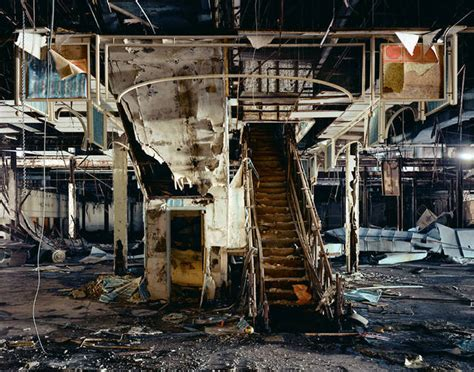 haunting photos of a deserted mall that is now covered in haunting dead mall photo gallery boing boing