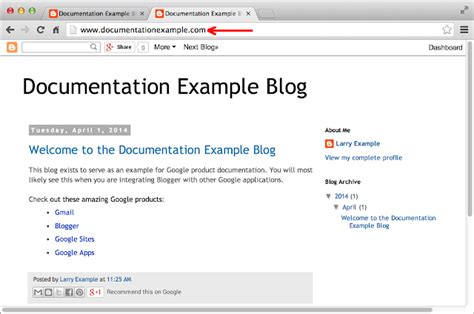 blogger names integrate with blogger google domains help