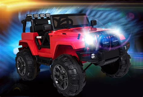 Ride On Jeep Ride On Jeep Truck Power Wheels Style Parental Remote