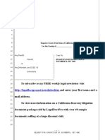Sle Meet And Confer Letter For California Request For Production Of Documents California Template