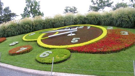 Geneva Flowers 8 flower clock geneva switzerland