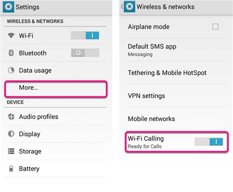 android help center wi fi calling setup on android help center