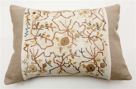 ottoman embroidery ottoman embroidery pillow at 1stdibs