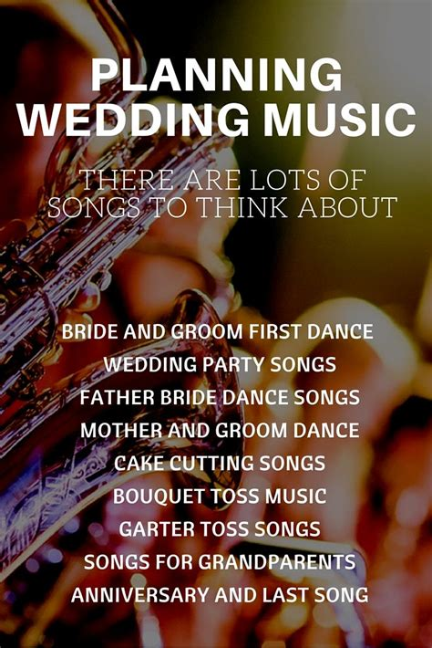 Wedding Reception Songs by Complete Guide To Wedding Songs