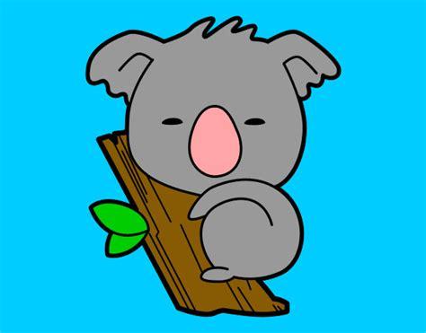 imagenes kawaii de koalas dibujos de koalas para colorear dibujos net