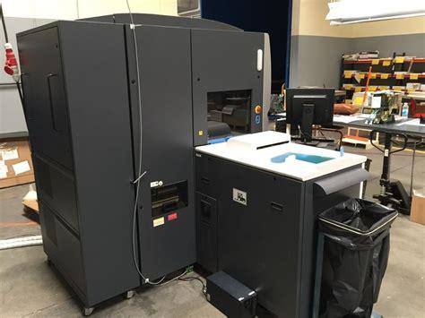Printer Hp Indigo 5500 7 color used hp indigo 5500 like new only 1 9 mil imp