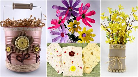 crafts to do with earth day crafts and decorations using household items