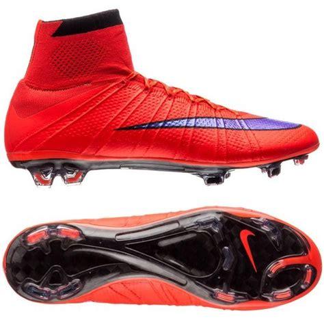 Nike Mercurial Superfly Fg Bright Crimson Flyknit nike mercurial superfly fg bright crimson violet black pre order www unisportstore