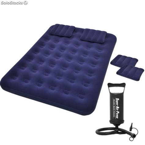 colchon inflable colch 243 n inflable cama flocada hinchable de aire con