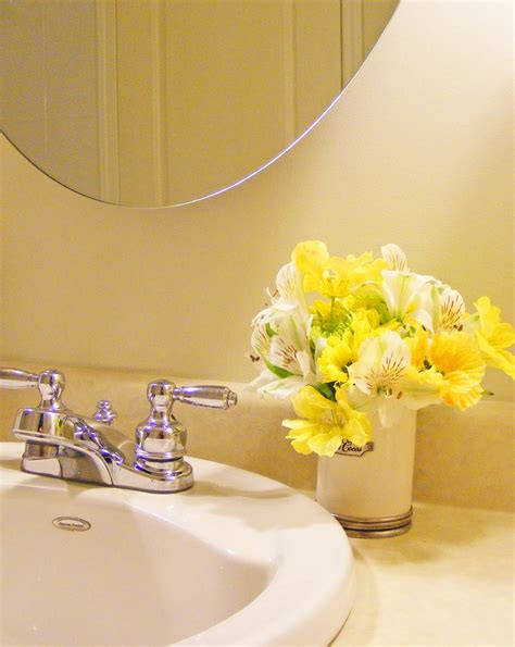 flowers for bathroom home decor ideas bring indoors with flower
