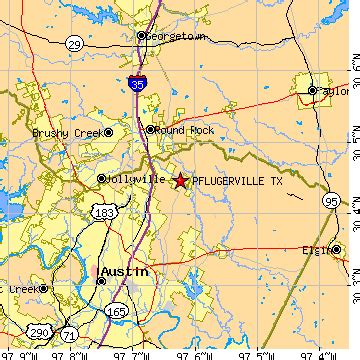 pflugerville texas map pflugerville texas tx population data races housing economy