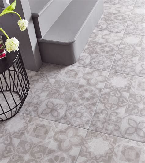 grey patterned ceramic floor tiles alfred grey is a large 498mm x 498mm patterned ceramic