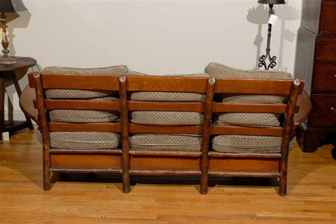 old hickory sofa 1920 1930 old hickory sofa and chair at 1stdibs