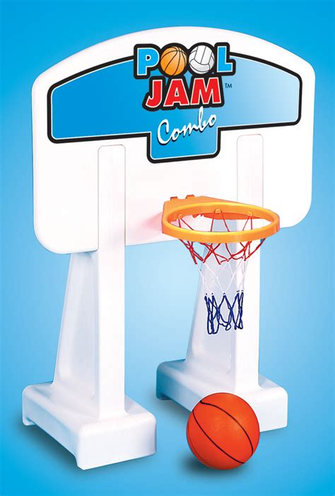 2 In 1 Basketball pool jam 2 in 1 basketball in ground