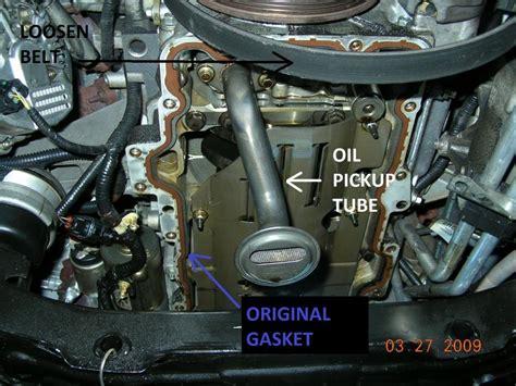 oil pan removal wpics faq jaguar forums jaguar