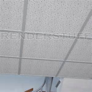ceiling 3d model suspended armstrong