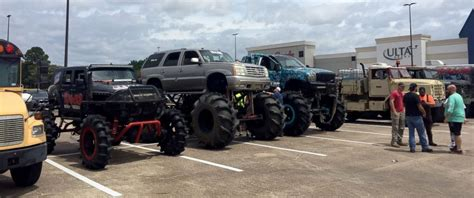 monster truck show texas fleet of monster trucks conducts rescues in flood ravaged