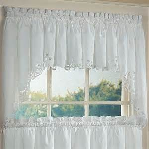 Battenburg Lace Kitchen Curtains Battenburg Floral Kitchen Curtains Windows