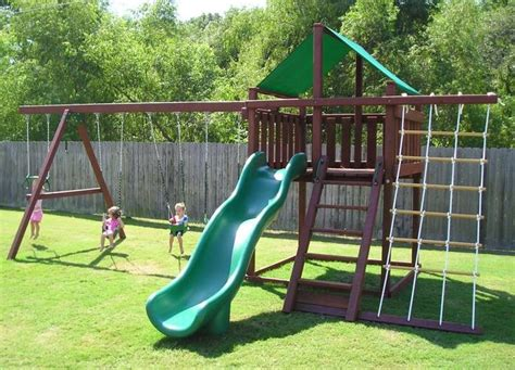 backyard swing set plans 25 best ideas about swing set plans on pinterest wooden
