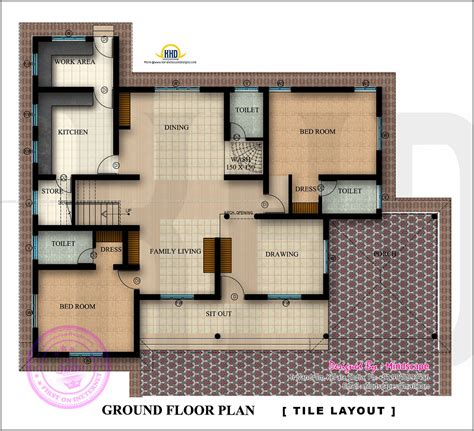 325 Sq Ft In Meters by Floor Plan And Elevation Of 2350 Square Feet House