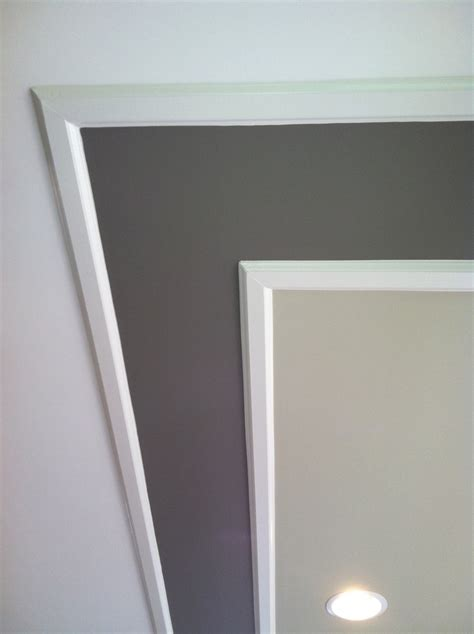 tray ceiling with two paint colors bedroom dreams