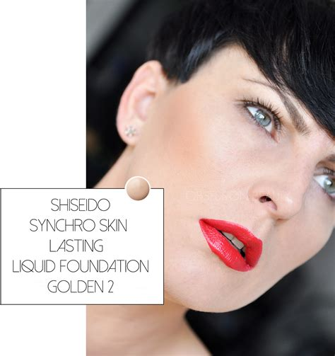 Shiseido Synchro Foundation shiseido synchro skin lasting liquid foundation