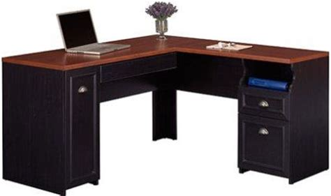 Concealed Desk by Bush Wc53930 03 Fairview L Shaped Desk Concealed Cpu