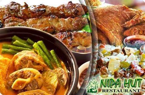 nipa hut restaurants food drinks promo  pasig