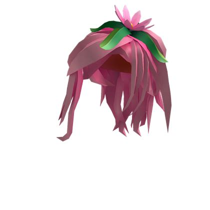is there pink hair in roblox catalog pink flower princess hair roblox wikia fandom