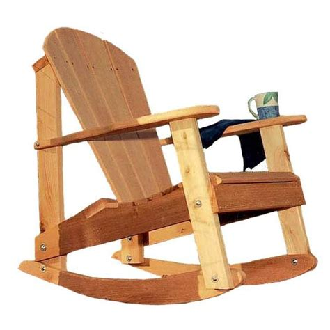 Ideas Design For Adirondack Rocking Chair Creekvine Designs Cedar Adirondack Rocking Chair Yard Outlet
