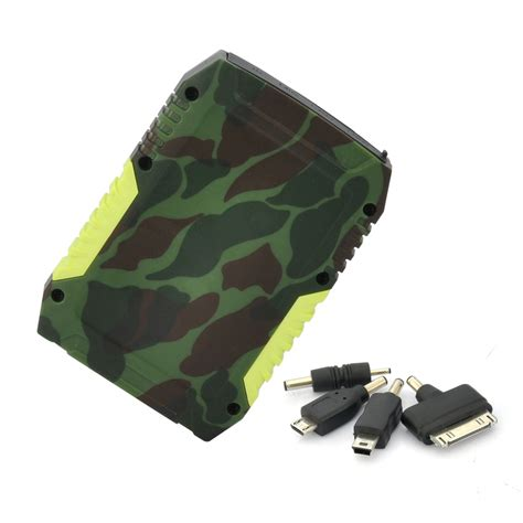 Rugged Portable by 1 Rugged Portable Battery Bank S 7800mah Usb Port