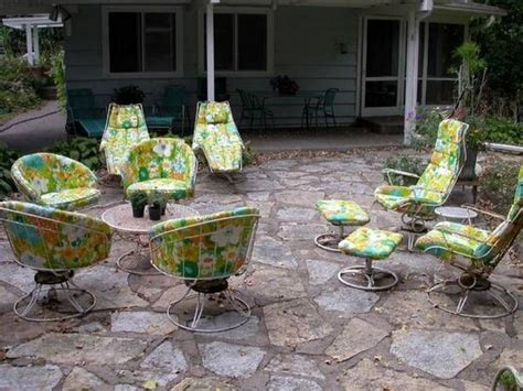 Vintage Outdoor Patio Furniture 1000 Ideas About Vintage Patio Furniture On Orange Furniture Sets Shabby Chic